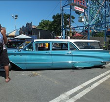 Rumblers Last Ride at Coney Island Classic cars and hot rods at Coney Island!