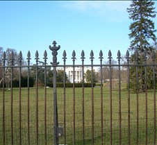 White House - Front Fence