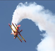 Gene Soucy & Wing Walker Teresa Stokes