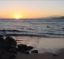 Sunset at six-thirty