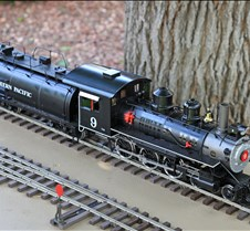 Lee Barrett's AC77-082 SP 4-6-0 #9 Loco