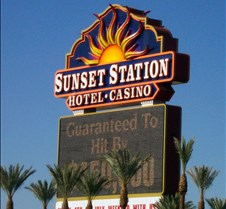9041 Sunset Station marquee