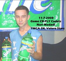 1172008 Game CB-PLY Cadets Nuri Madadi