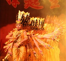 Disabled Persons Show in Dongguan Entertainment show at the Dongguan Cultural Center.  Most performers were handicaped from the Chinese Disabled Persons Performing Arts Troupe.  
