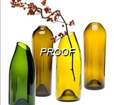 floreros botellas vidrio