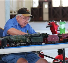 Tony Dixon Works on a Live Steam Loco