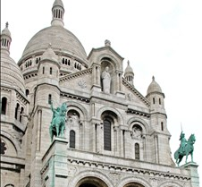 Basilica of the Sacré Cœur in Paris