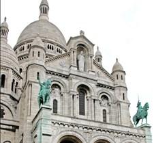 Basilica of the Sacré Cœur in Paris