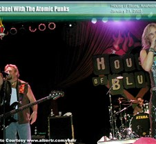 2003-01-31 Atomic Punks @ Anaheim HOB, for official site My pictures exclusive to the official Michael Anthony website.