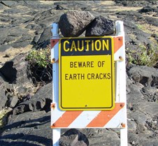 The Earth has a Crack too!