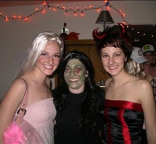 Melissa, Amanda, and Gina