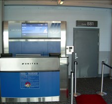 Gate Area - UA Regional Jet Terminal
