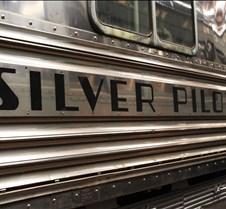 """CB&Q #9911A """"Silver Pilot"""" Loco"""