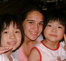 Kate and the Emoto daughters