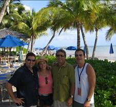 Doug, Anne, Jim Morris, and me at Casa