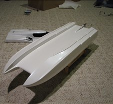 ThunderCat 31 ThunderCat 31 R/C nitro powered boat
