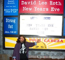 2003-12-31 DLR @ Sunset HOB David Lee Roth, on New Year's Eve, in Hollywood.  Does it get any better than that?  Unfortunately, the House of Blues has a very strict no camera policy, so it was very difficult to get a camera in and to take these photos.  The place was packed, security