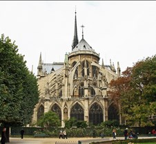 Notre Dame, View From The Park