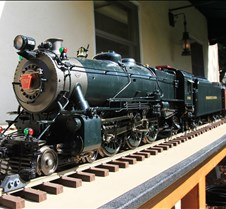 Steve Ciambrone's 4-6-2 K-4 by Accucraft
