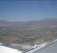 LAN 755 - Chile before Landing