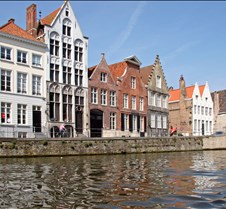 The Canals of Bruges Belgium