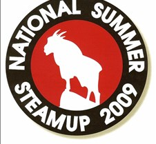 2009 National Summer Steamup Logo