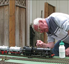 Brian Beckham and His 2-6-4 4MT Loco
