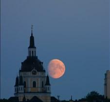 Stockholm moonrise - 6