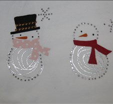 Card - Winter Snowman with different hat