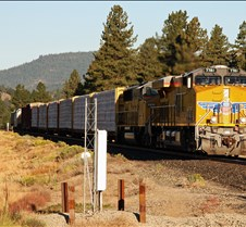 UP-7781 & UP-2408 Eastbound Near Portola