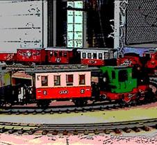 Art - trainposter