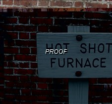 Hot shot furnace sign