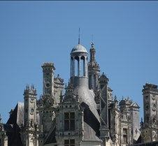 Chambord - Roof