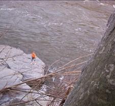 Rock Climbing Great Falls 11-2-03