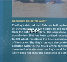 Narrative color of water