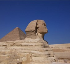 Sphinx from side