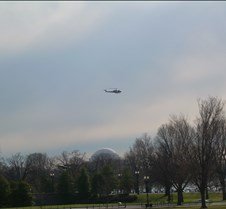Low Flying Helicopter