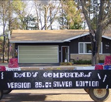Our trivia float