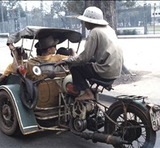 Powered Rickshaw In Saigon
