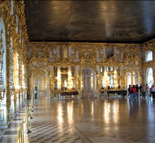 Ballroom at Catherine Palace Russia