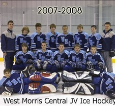 2007-8 WMC Ice Hockey JV Team