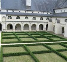 Abbaye le Fontevraud - Cloister Parterre