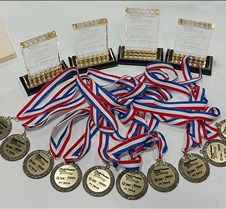 NFPA competition medals