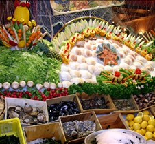 Food Display Brussels Street Restaurants