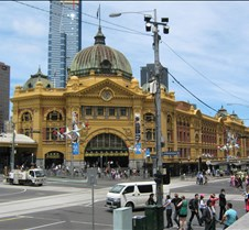 Estacion del tren Melbourne