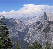 Yosemite, Half Dome from Glacier Point