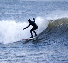 Winter Surfing in Nova Scotia