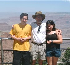Dylan, Glenn, Roxy Grand Canyon 7/02