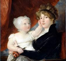 Mrs Benjamin West II and Son-Benjamin We