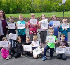 GHES second grade awards